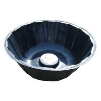 Пруд пластиковый, 135 х 135 х 40 см