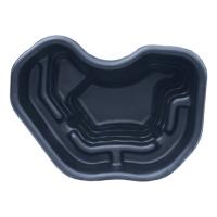 Пруд пластиковый, 120 х 90 х 40 см