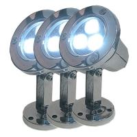 Подсветка подводная светодиодная HUIQI HQ-S03-3W X 3 шт